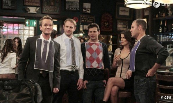 Une idée originale de Barney dans How I Met Your Mother