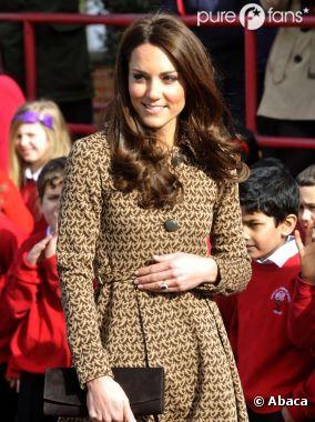La grossesse de Kate Middleton excite les médias