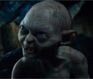 Bilbo rencontre Gollum