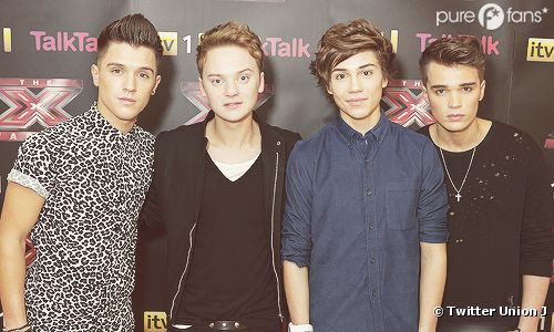 Union J : Out du X Factor UK mais toujours soutenus par les One Direction !
