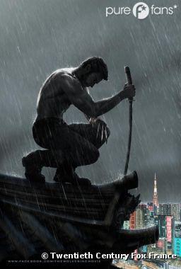 Première vraie affiche de The Wolverine