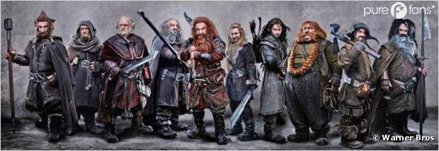 Les nains de Bilbo le Hobbit ont-ils été inspiré par les Tortues Ninja