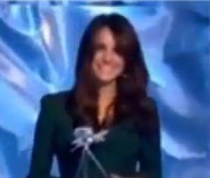 Kate Middleton lors de sa première sortie officielle après l'annonce de sa grossesse