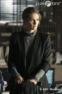 Beckett de retour chez son psy dans Castle