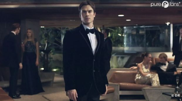 Ian Somerhalder en mode James Bond