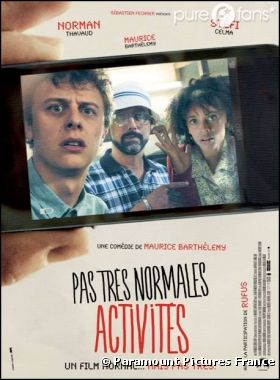 Pas très normales activités sortira le 30 janvier 2013