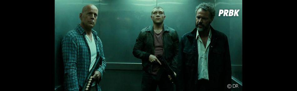 John McClane et son fils dans Die Hard 5