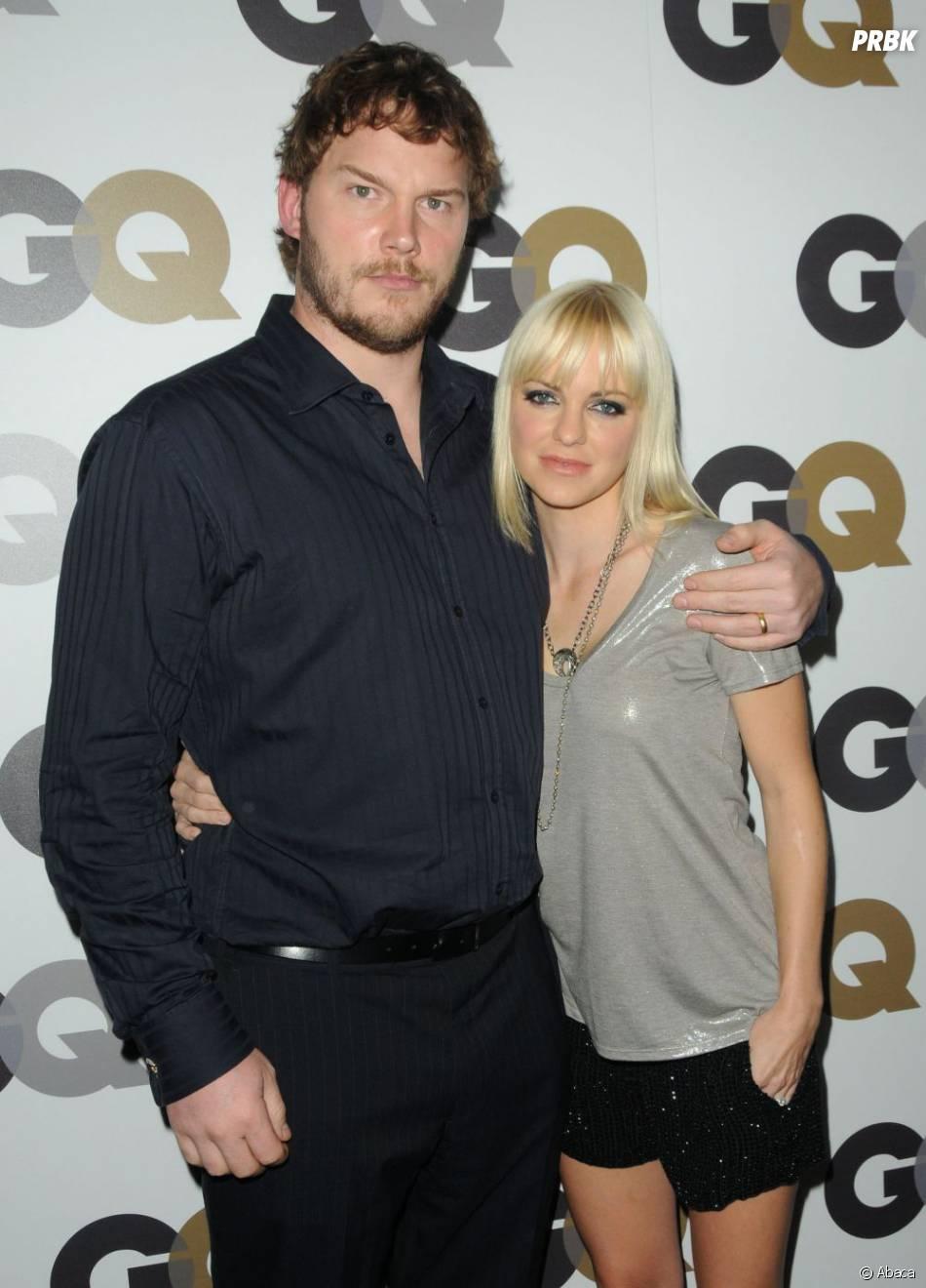 Anna Faris et son mari Chris Pratt
