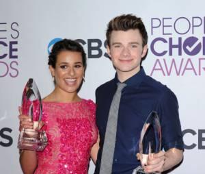 Lea Michele et Chris Colfer, meilleurs acteurs de comédie aux People's Choice Awards 2013
