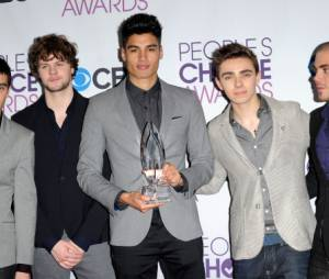 The Wanted bat les One Direction aux People's Choice Awards 2013