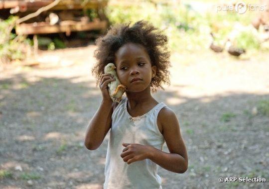 Quwenzhane Wallis, 9 ans, est nommée aux Oscars 2013 !