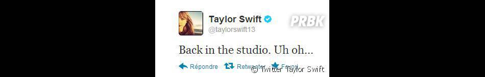 Taylor Swift est de retour en studio !