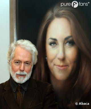 Paul Emsley est critiqué pour le portrait officiel qu'il a peint de Kate Middleton !