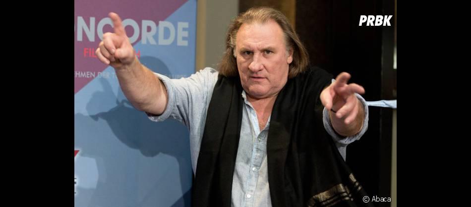 Gérard Depardieu fait encore le buzz