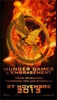 Hunger Games 2 : l'affiche française s'embrase aussi !