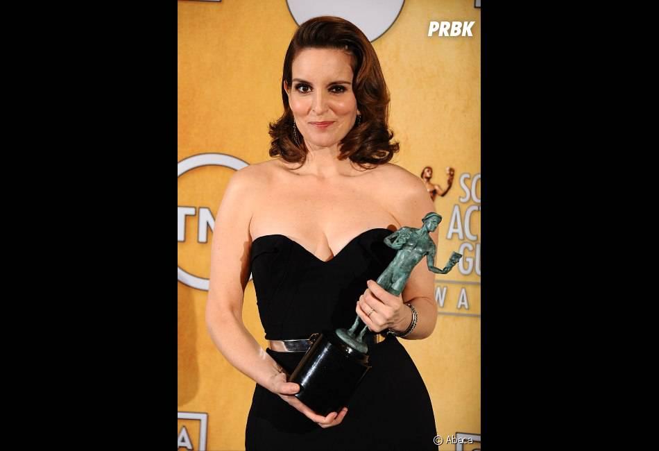 Tina Fey repart avec un prix aux SAG Awards 2013