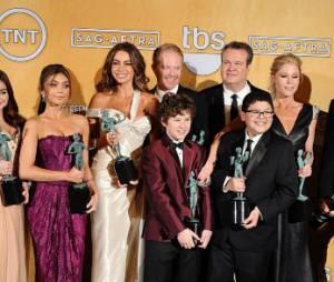 Modern Family gagne le prix de Meilleur casting d'une série comique aux SAG Awards 2013