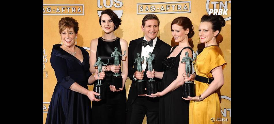 Downton Abbey récompensé aux SAG Awards 2013