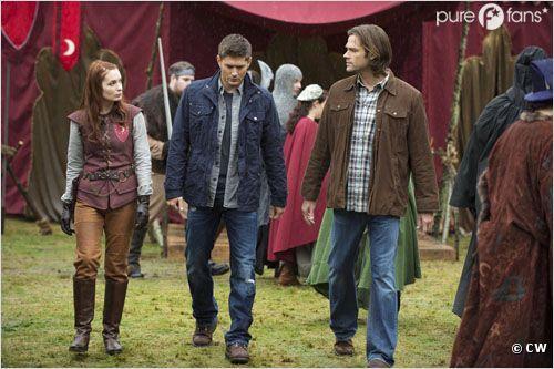 Felicia Day revient dans Supernatural