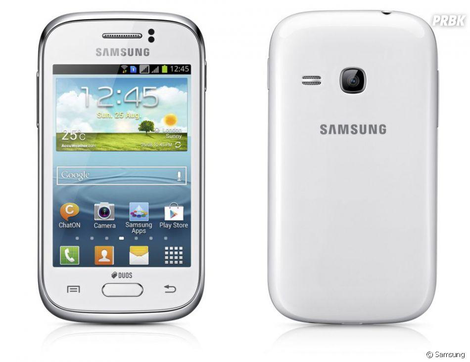 Le Samsung Galaxy Young, le nouveau smartphone low-cost !