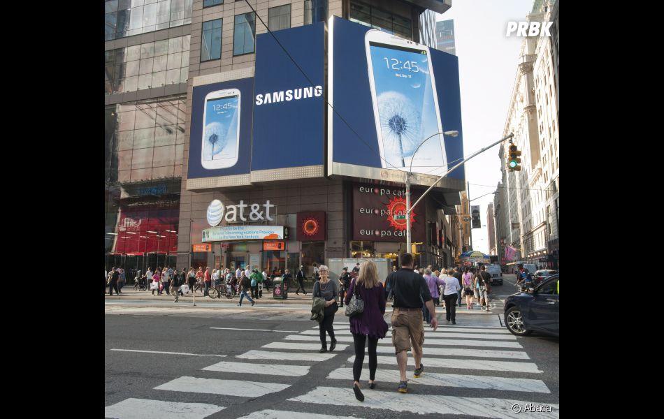 Le Samsung Galaxy S est partout !