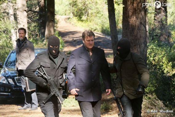 Rick kidnappé et en danger dans l'épisode 16 de la saison 5 de Castle