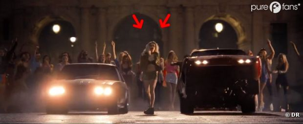 Rita Ora dans Fast and Furious 6