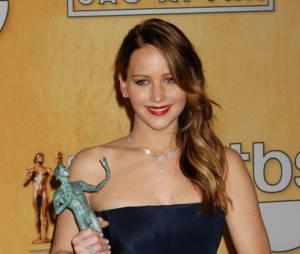 Aux Oscars 2013, Jennifer Lawrence est nommée pour son rôle dans Hapiness Therapy