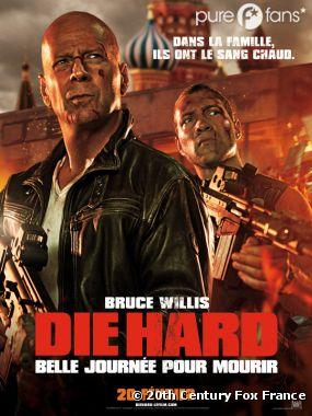 Die Hard : belle journée pour mourir arrive en salles et va tout défoncer !