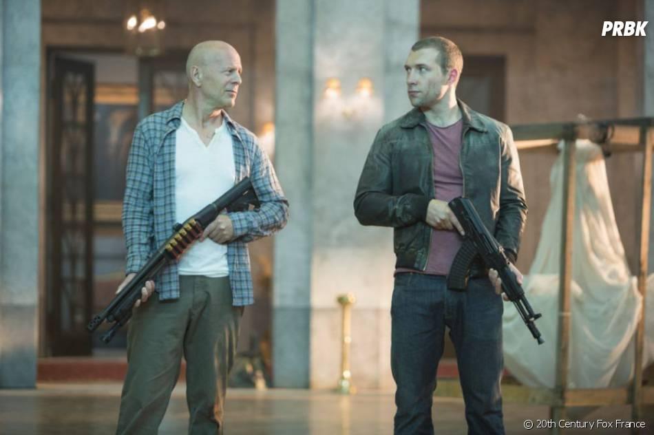 John McClane à la recherche de son fils Jack dans Die Hard 5