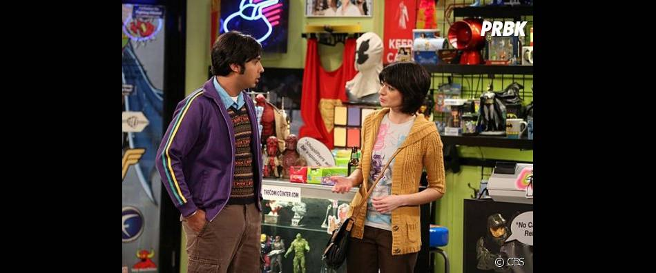 Raj va avoir une copine dans The Big Bang Theory