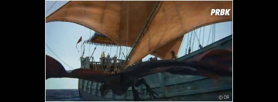 Un dragon au programme de Game of Thrones saison 3