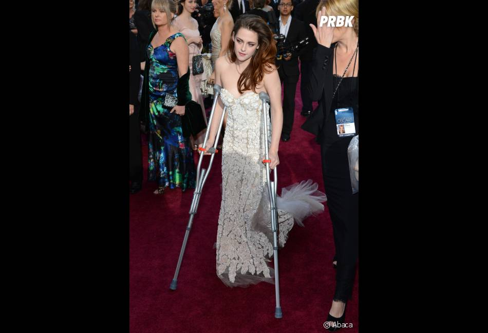 Kristen Stewart et sa soirée maudite aux Oscars 2013