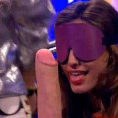 Kelly Brook : paille ou pénis ? La blague graveleuse en direct à la télé