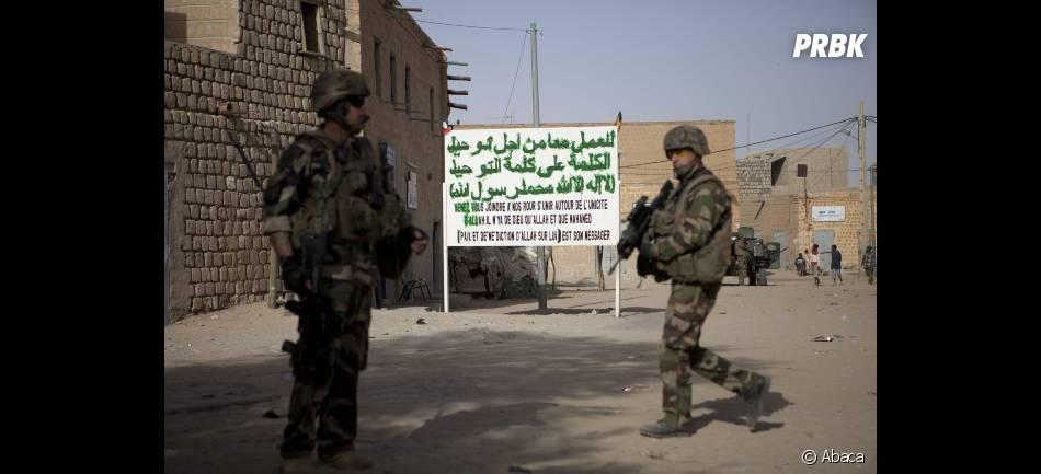 Les troupes françaises sont au Mali depuis presque deux mois.