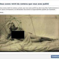 Facebook : nouvelle censure d'une photo de nu, le musée du Jeu de Paume furieux