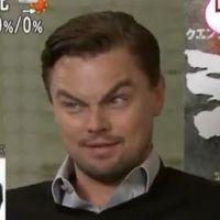 Leonardo DiCaprio : imitation de Jack Nicholson au sourcil près !