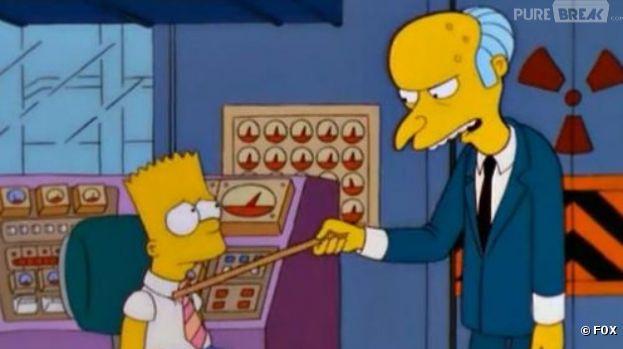 Un vrai duel Bart/Burns au tribunal
