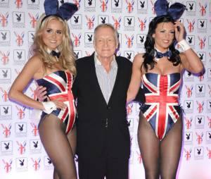 Hugh Hefner, patron de Playboy et chaud lapin confirmé