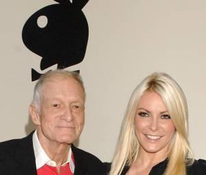 Crystal Harris est la 3e femme d'Hugh Hefner, le boss du manoir Playboy