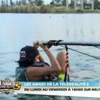 Nabilla (Les Anges 5) : séance de ski-nautique sexy et chutes à gogo