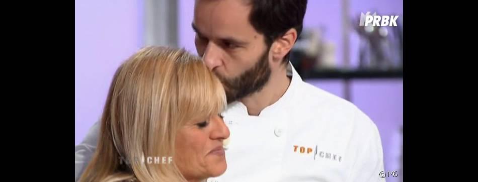 Yoni Saada et sa maman sont très proches dans Top Chef 2013.