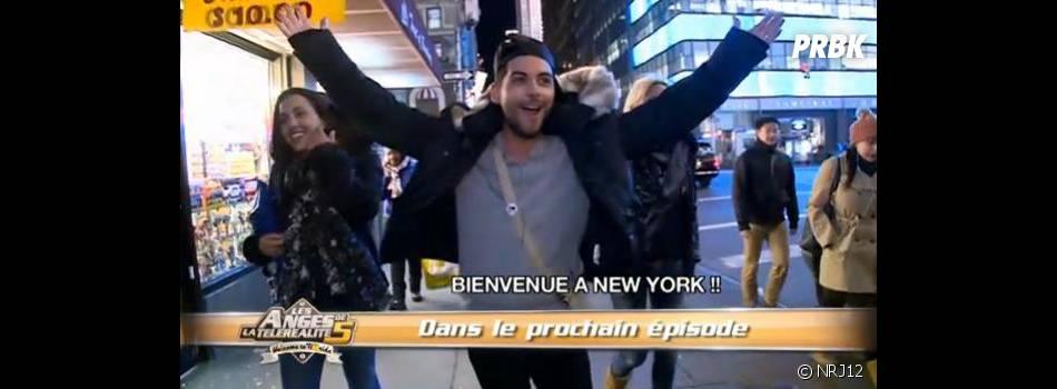 Alban, Amélie, Maude, Marie et Geoffrey ont passé leur dernière soirée à New York dans les Anges de la télé-réalité 5.
