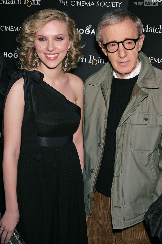 Woody Allen est fou de Scarlett Johansson
