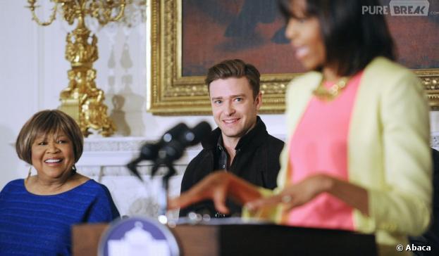 Justin Timberlake était invité à la Maison Blanche pour fêter la musique soul de Memphis.