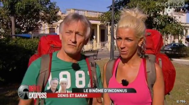Denis et Sarah, le duo d'inconnus, a galéré lors de la première étape de Pékin Express 2013 : le coffre maudit.