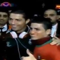 Cristiano Ronaldo : mort de rire face à son (petit) sosie