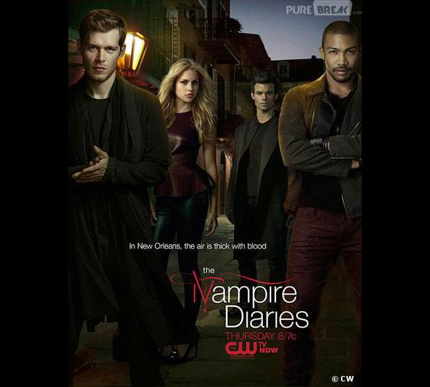Premier poster pour The Originals, la série spin-off de Vampire Diaries