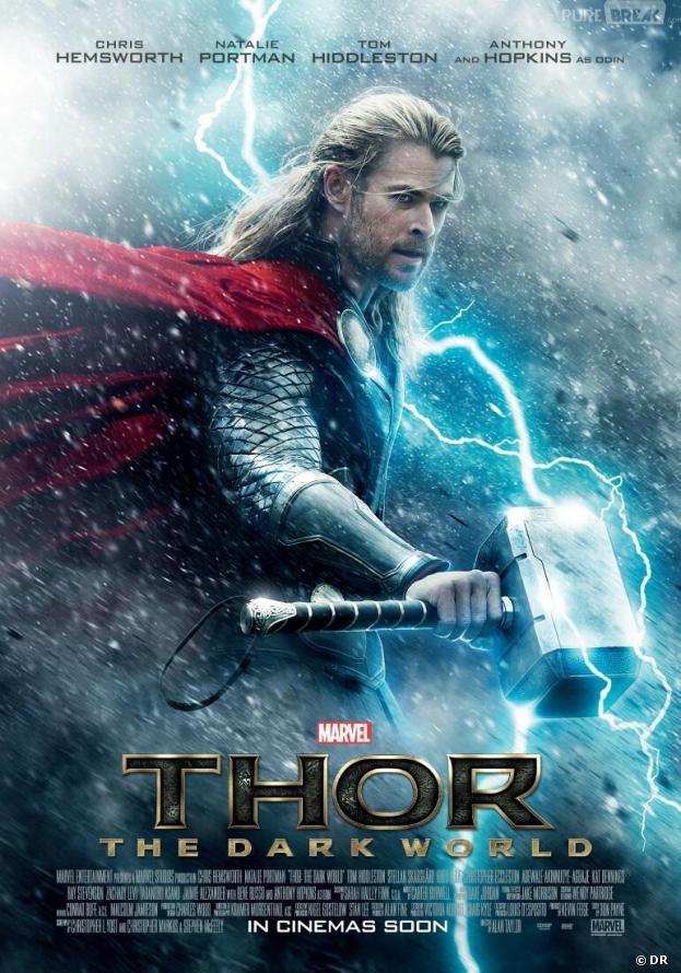 La toute première affiche de Thor 2 : The Dark World avec Chris Hemsworth