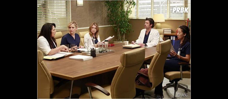 Situation de crise dans Grey's Anatomy